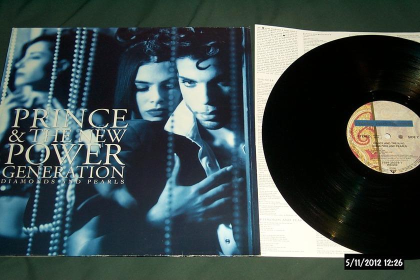 Prince - Rare Vinyl 2LP Germany diamonds and pearls nm