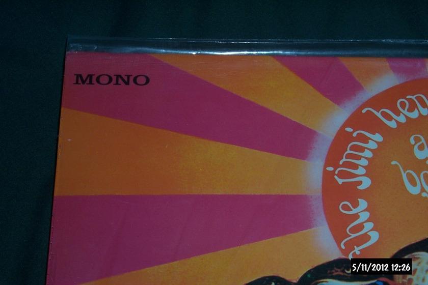 Jimi Hendrix Experience - Axis:Bold As Love Mono LP NM