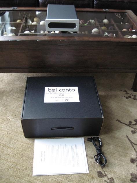 Bel Canto e.One S500 (250W/ch.) PRISTINE!  Dual Mono Power Ampifier
