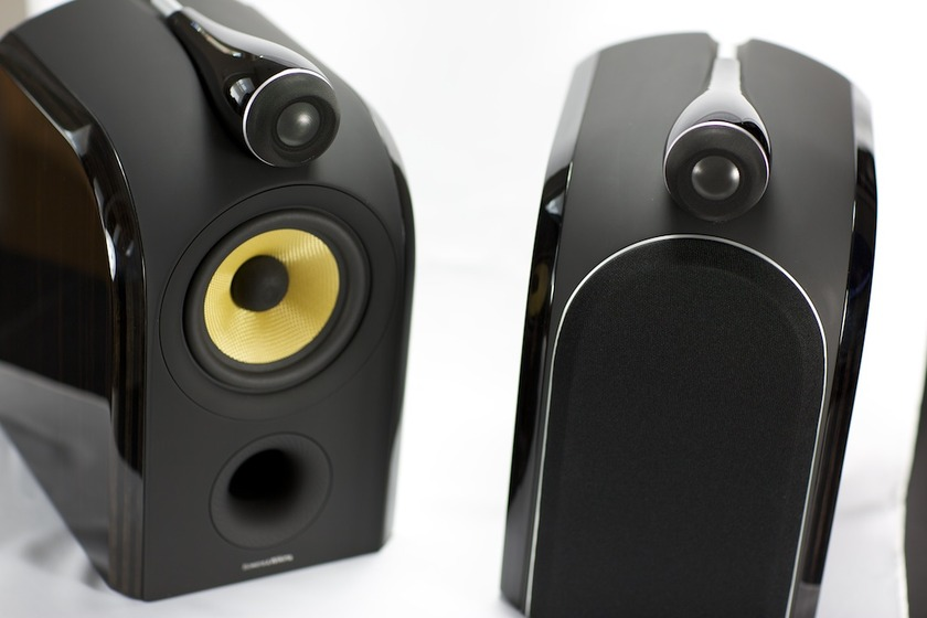 Bowers & Wilkins B&W PM1 Bookshelf Speakers Pair