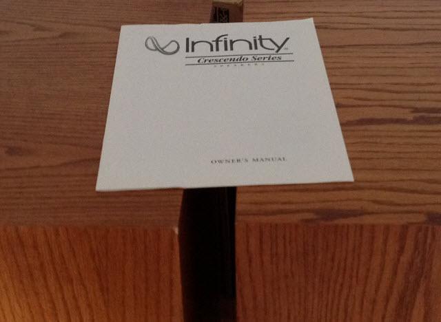 Infinity CS 3009 Crescendo 4-Way Speakers