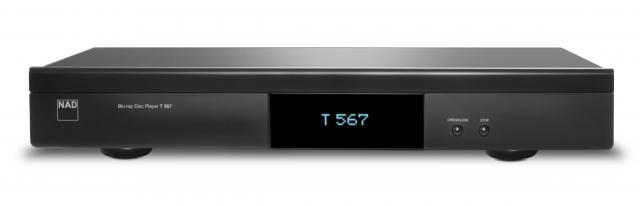 NAD T567 Network Blu-ray Disc Player with Manufacturer's Warranty & Free Shipping
