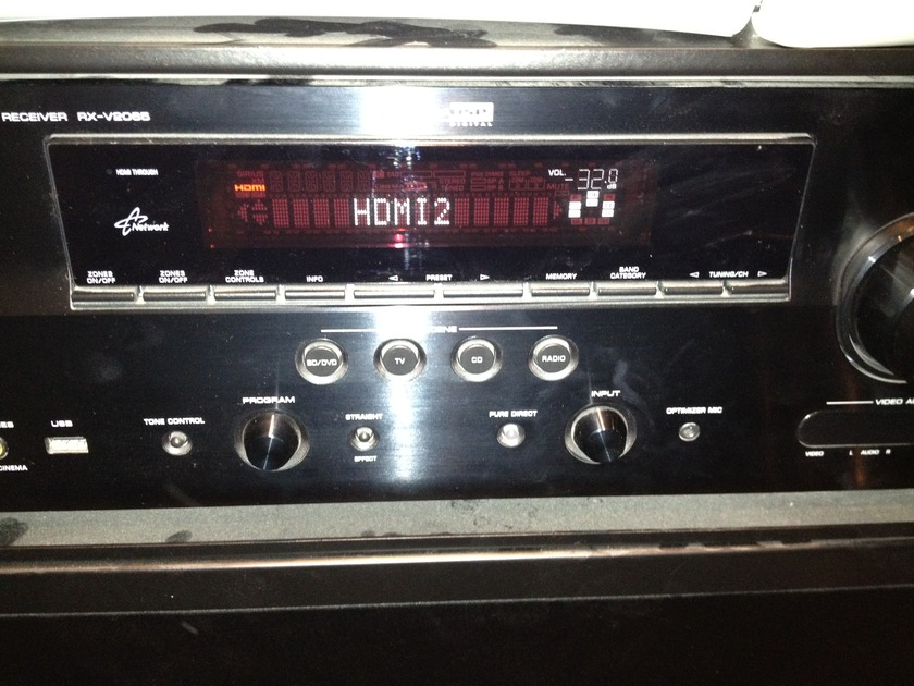 Yamaha RX-V2065 Great condition 7.2 with 2 hdmi out at the same time