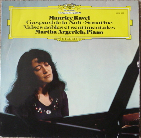 RAVEL  - MARTHA ARGERICH PIANO DG LP EXCEL LOW PRICE