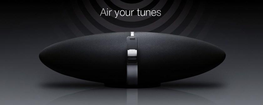 B&W Zeppelin Air iPod player