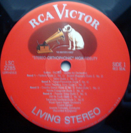★Audiophile 180g★ RCA-Classic Records /  - FISTOULARI, Walton Façade, MINT(OOP)!