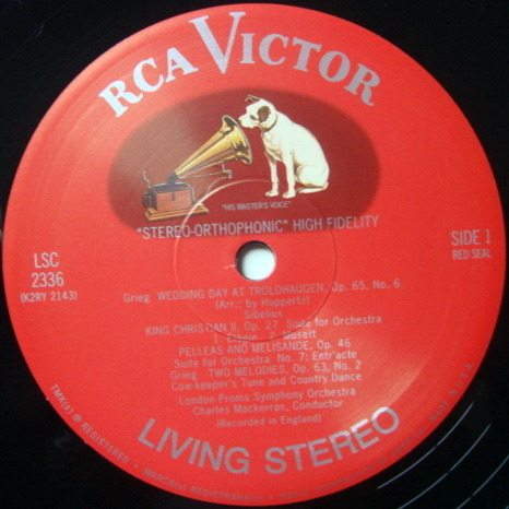 ★Audiophile 180g★ RCA-Classic Records / MACKERRAS, - Sibelius Finlandia, MINT(OOP)!