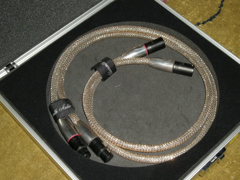 Silversmith Audio Palladium Interconnect-XLR 3 ft
