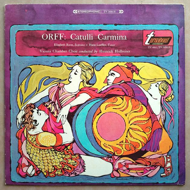 TURNABOUT   HOLLREISER/ORFF - Catulli Carmina / EX