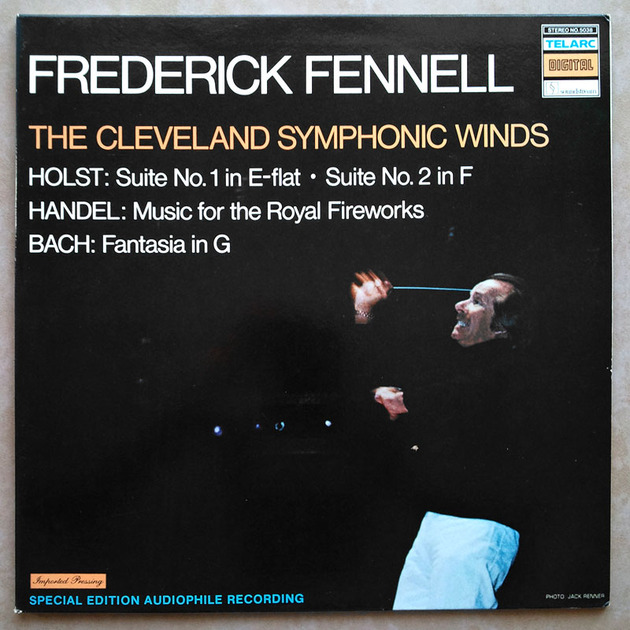 Audiophile TELARC | FENNEL/HOLST - Suites Nos. 1 & 2/BACH Fantasia/HANDEL Music for the Royal Fireworks / NM