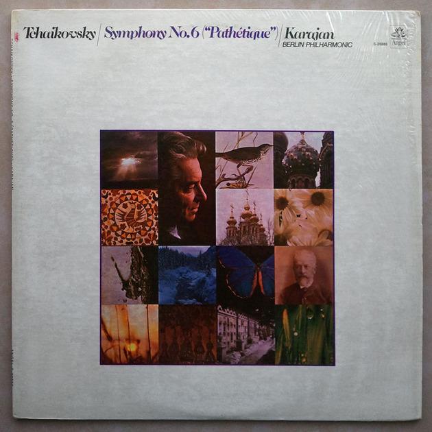 ANGEL | KARAJAN/TCHAIKOVSKY - Symphony No.6 Pathetique / NM