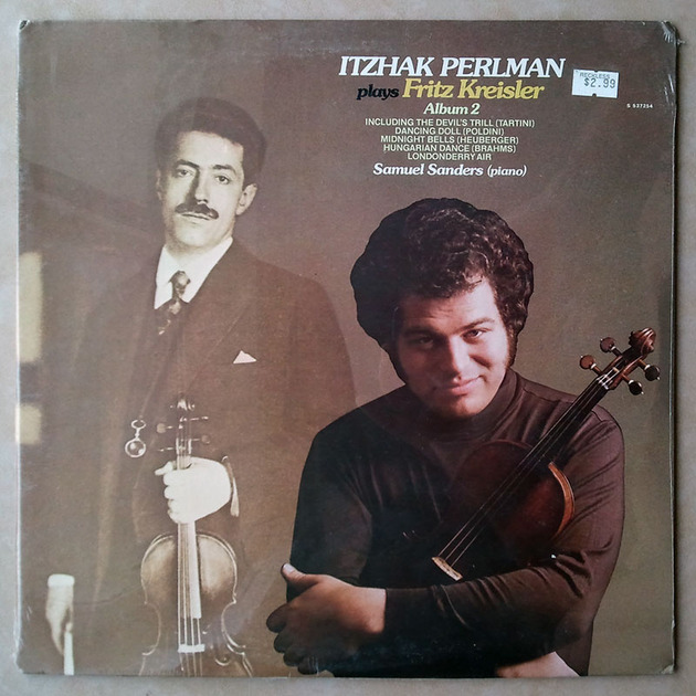 Sealed ANGEL | PERLMAN/KREISLER-TARTINI - Devil's Trill / POLDINI Dancing Doll / HEUBERGER Midnight Bells / BRAHMS Hungarian Dance /