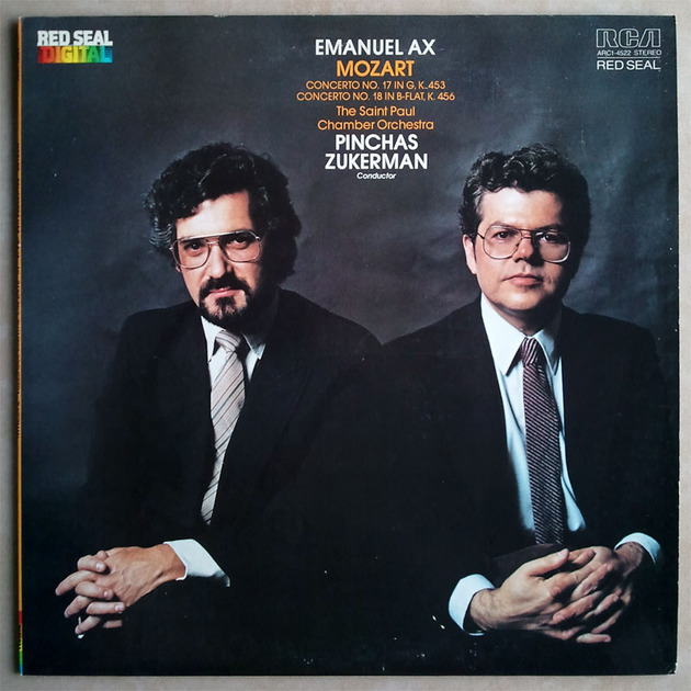 RCA Digital | EMANUEL AX/JUKERMAN/MOZART - Piano Concertos Nos. 17 & 18 / NM