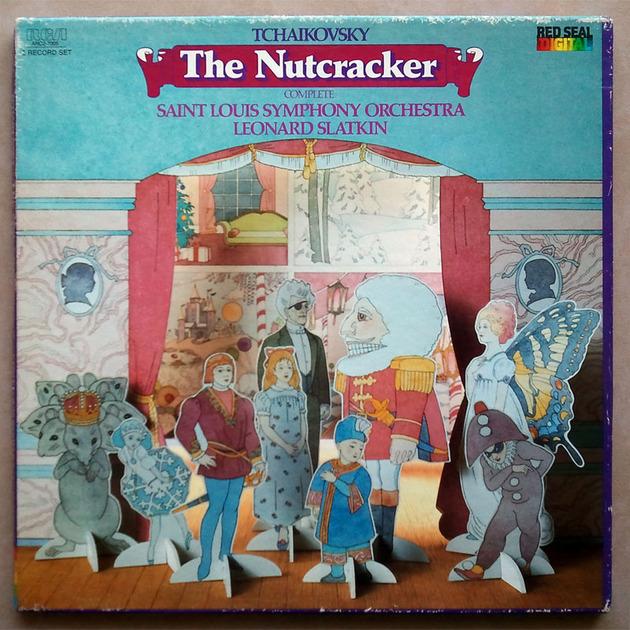 RCA Digital   SLATKIN/TCHAIKOVSKY - The Nutcracker Complete / 2-LP / NM
