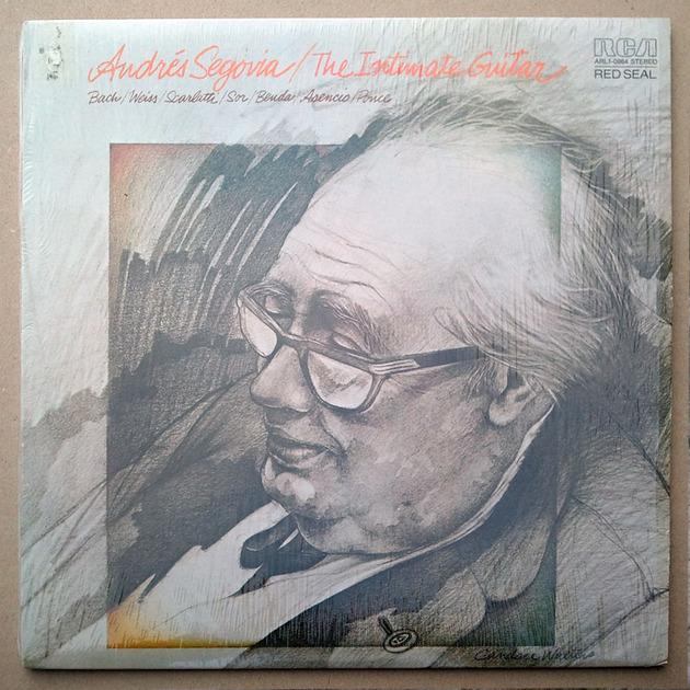 RCA Digital | SEGOVIA - The - Intimate Guitar / Bach, Weiss, Scarlatti, Sor, Benda, Asencio, Ponce / NM