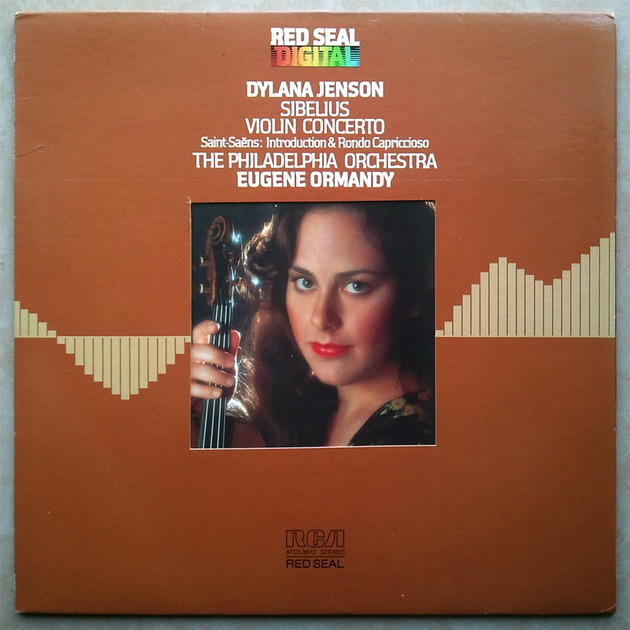 RCA Digital   DYLANA JENSON/ORMANDY/SIBELIUS - Violin Concerto / Audiophile German Pressings
