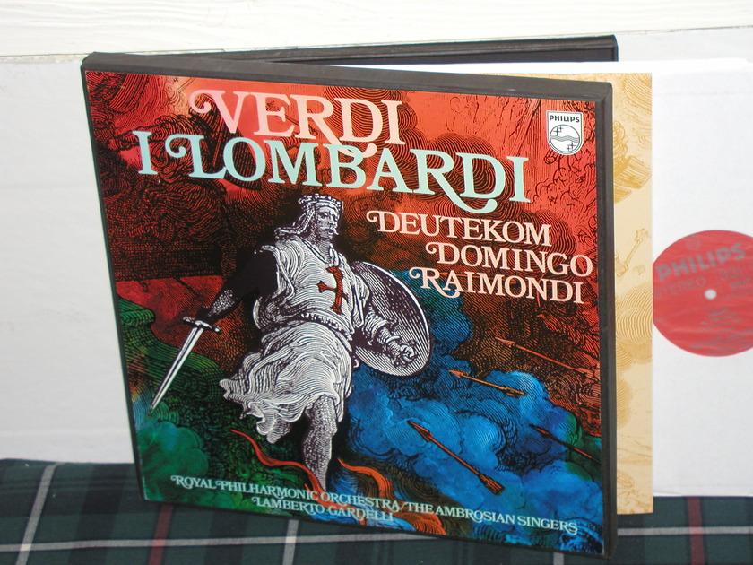 Gardelli/RPO - Verdi I Lombardi Philips Import  6703 3lp boxse