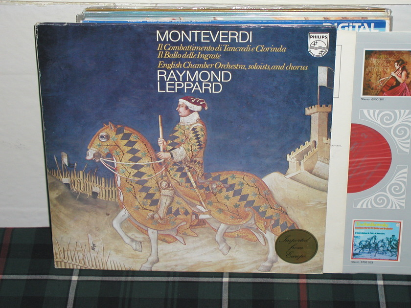 Leppard/ECO - Monteverdi Philips Import pressing 6500