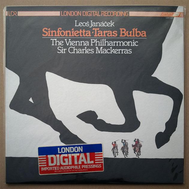Sealed LONDON Digital | MACKERRAS/LANACEK - Sinfonietta, Taras Bulba