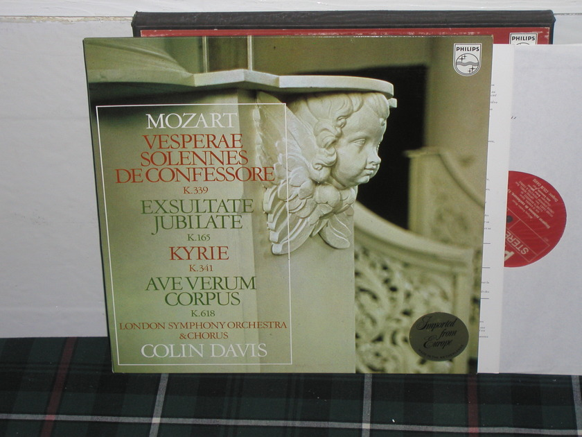 Davis/Lso&C - Mozart Philips Import pressing 6500