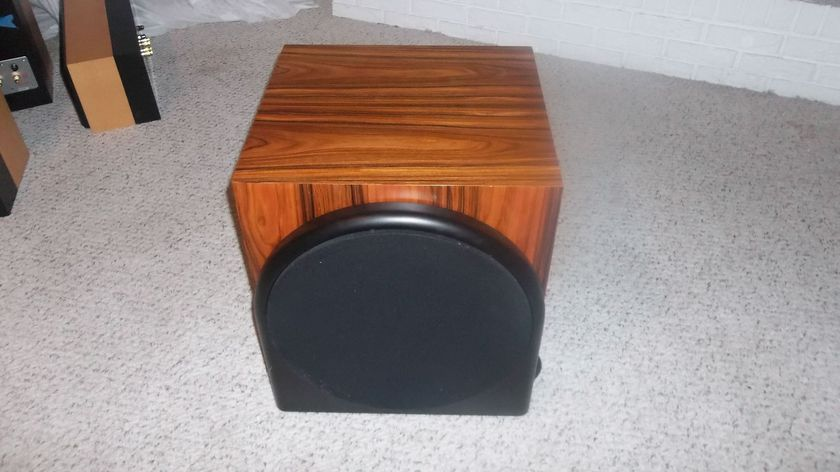 Revel performa M22 & B15 sub: lightly used with boxs