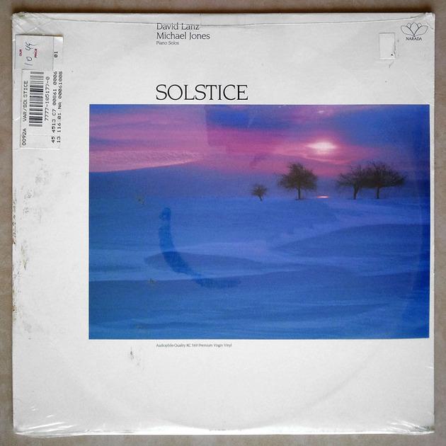 Sealed AUDIOPHILE   DAVID LANZ - - Solstice ( with Michael Jones )