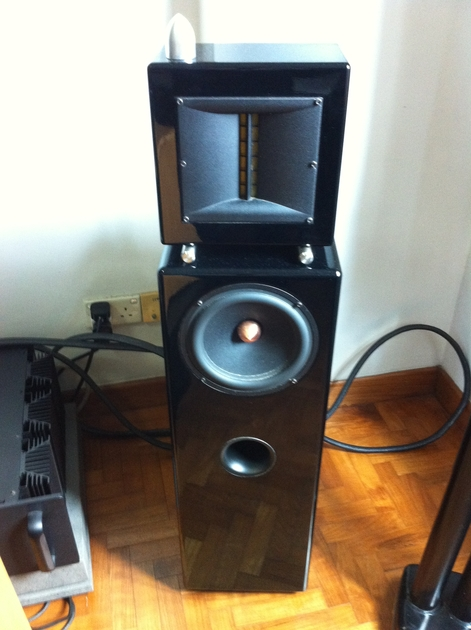 Ascendo  ZF-3 Full Range Speakers