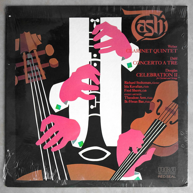 Sealed RCA | TASHI QUARTET/WEBER - Clarinet Quintet/DAHL Concerto a Tre/DOUGLAS Celebration II