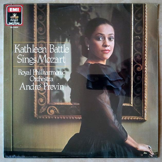 Sealed EMI Digital | KATHLEEN BATTLE - sings MOZART