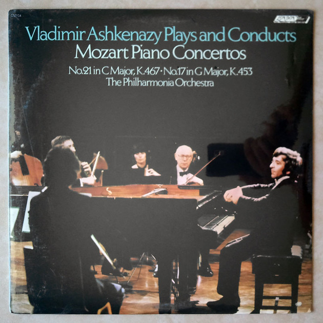 Sealed LONDON ffrr | ASHKENAZY/MOZART - Piano Concertos Nos. 21 & 17