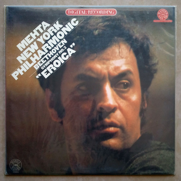 Sealed CBS Digital | MEHTA/BEETHOVEN - Symphony No. 3 Eroica / Promo copy - Audiophile Pressing