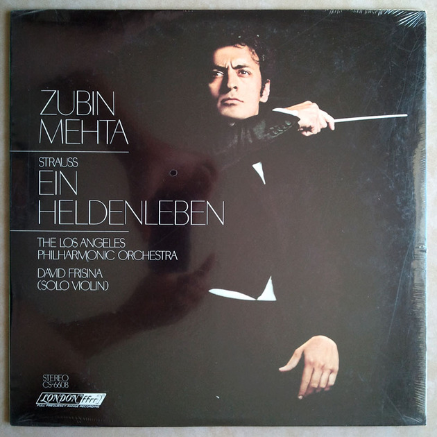 "Sealed LONDON ffrr | MEHTA/STRAUSS - Ein Heldenleben ""A Hero's Life"""