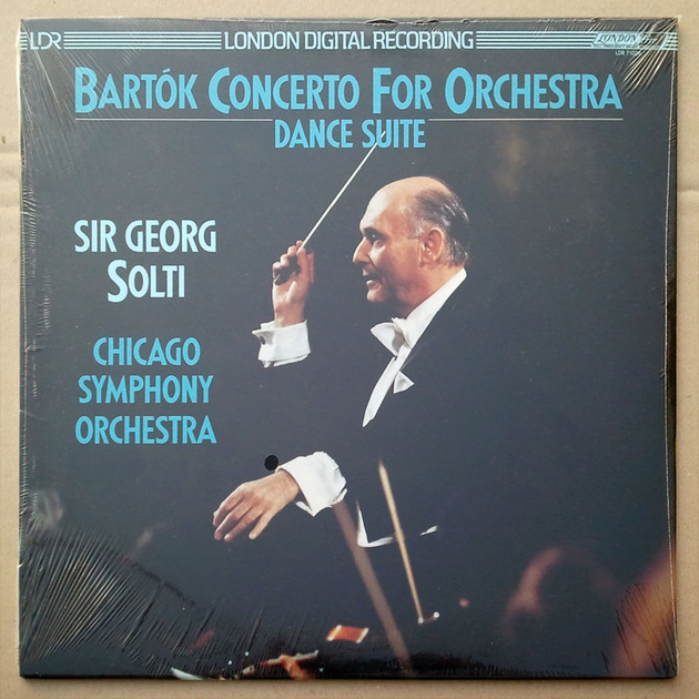 SEALED London Digital | SOLTI/BARTOK - Concerto for Orchestra, Dance Suite