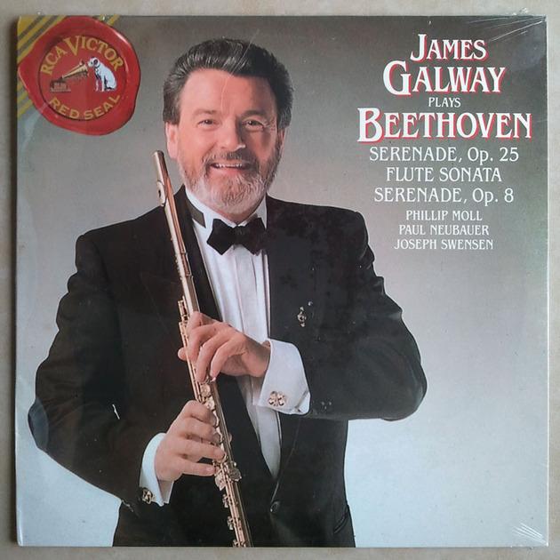 Sealed RCA   GALWAY/BEETHOVEN - Flute Sonata, Serenades Op. 25, Op. 28