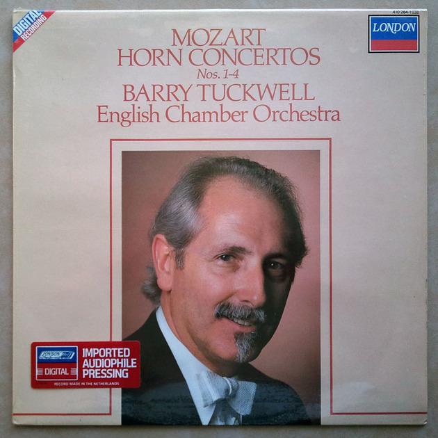 SEALED London Digital | TUCKWELL/MOZART - Horn Concertos Nos. 1 - 4