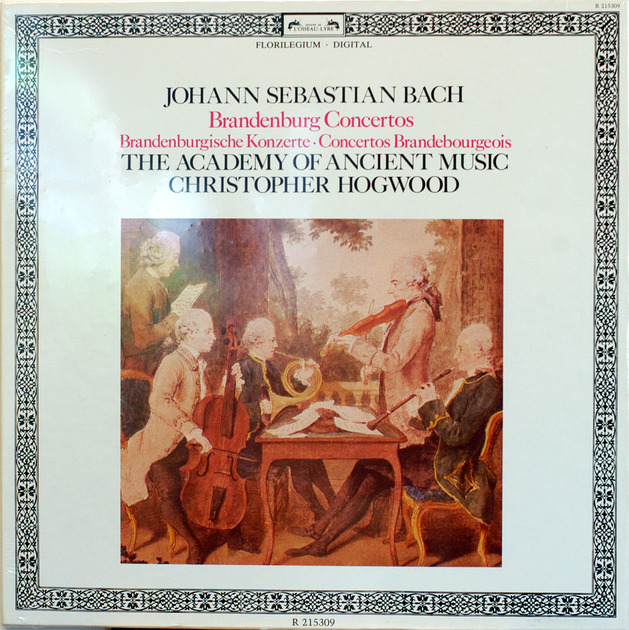BACH Brandenburg concertos - Cristopher Hogwood Sealed 2-lp Loiseau-Lyre