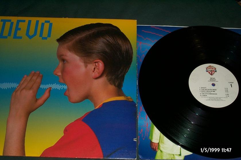 Devo - Shout LP NM