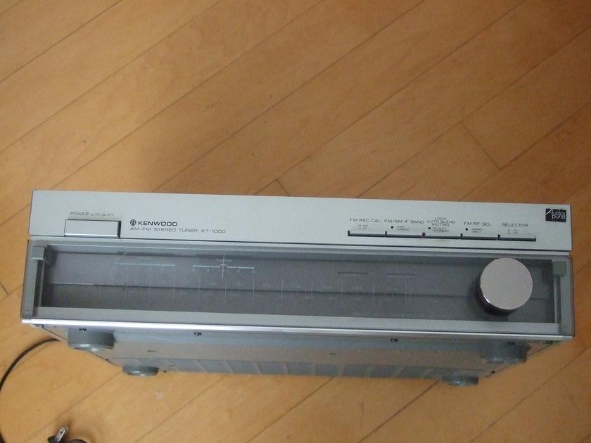 Kenwood KT-1000 AM/FM tuner