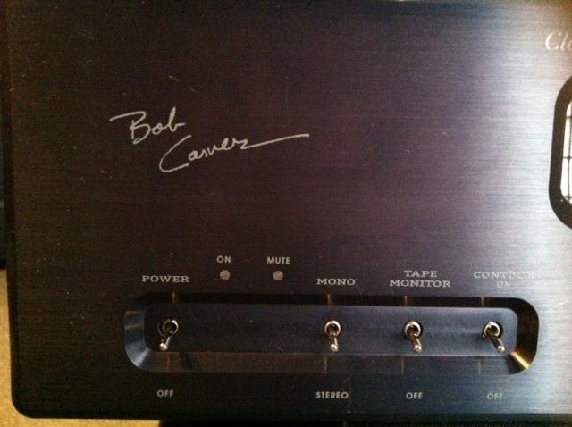 Bob Carver Sunfire Vacuum Tube Control Center Preamplifier
