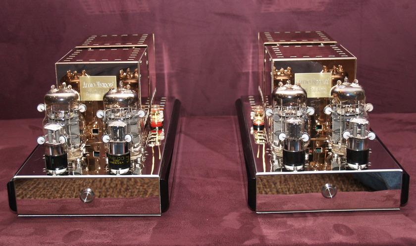 Audio Mirror  45 watt SET monoblock  amplifiers...OUTSTANDING!