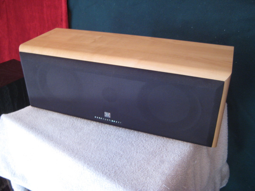 Mordaunt Short MS-504 Center Channel Speaker THX Honey Maple