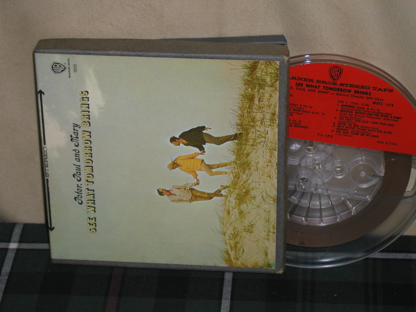 Peter,Paul and Mary - See What Tomorrow Brings  7 1/2 ips WB open reel tape