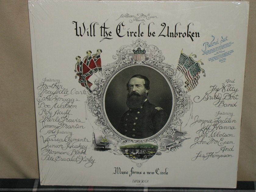 Nitty Gritty Dirt Band - Will The Circle. STILL SEALED w/sticker from 1972!!