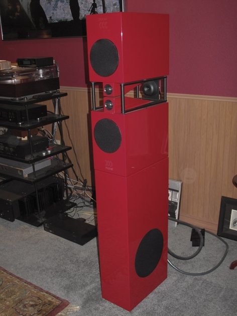 Morel Octwinn w/ subwoofers and amplifier