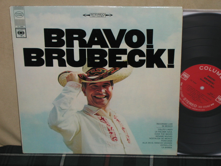 Dave Brubeck Quartet - Bravo Brubeck Columbia <360> labels from 60's