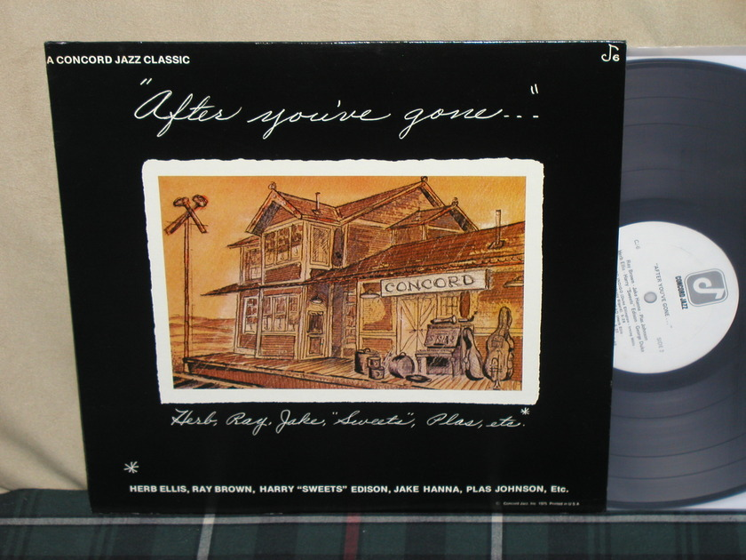 """Ellis/Brown+more - """"After You've Gone"""" Concord CJ 6 from 1975!"""