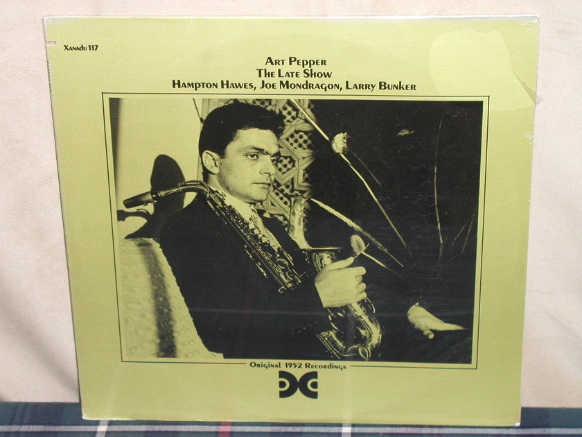 Art Pepper - The Late Show Still SEALED