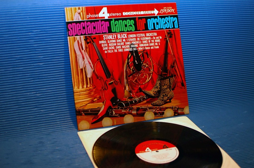 """STANLEY BLACK -  - """"Spectacular Dances for Orchestra"""" - London Phase 4 1967"""