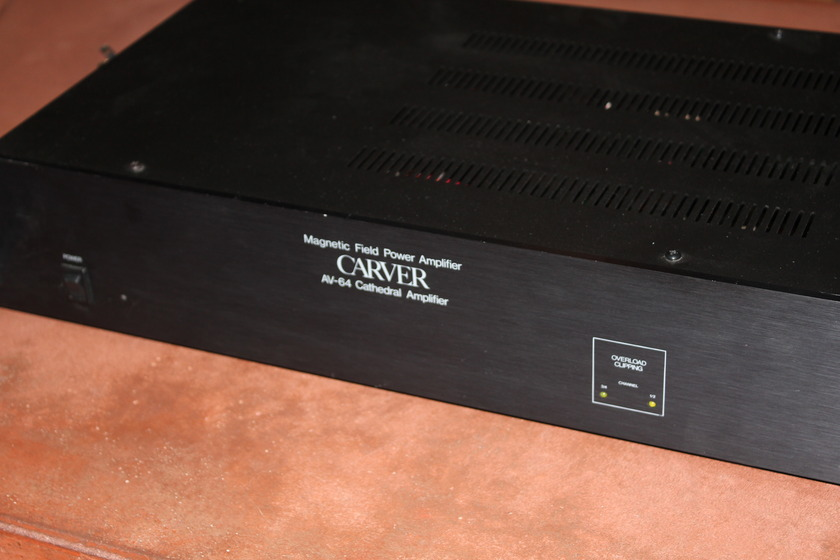 Carver AV-64 High Performance Amplifier