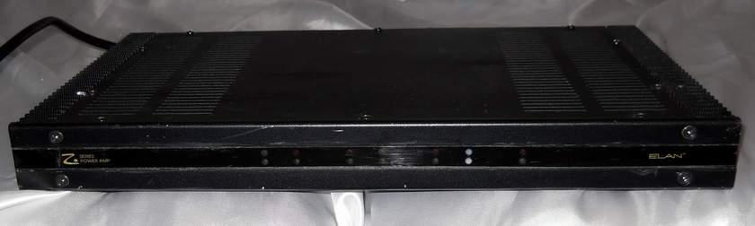 ELAN Z-660 6/5/4/3 channel bridgeable POWER AMPLIFIER